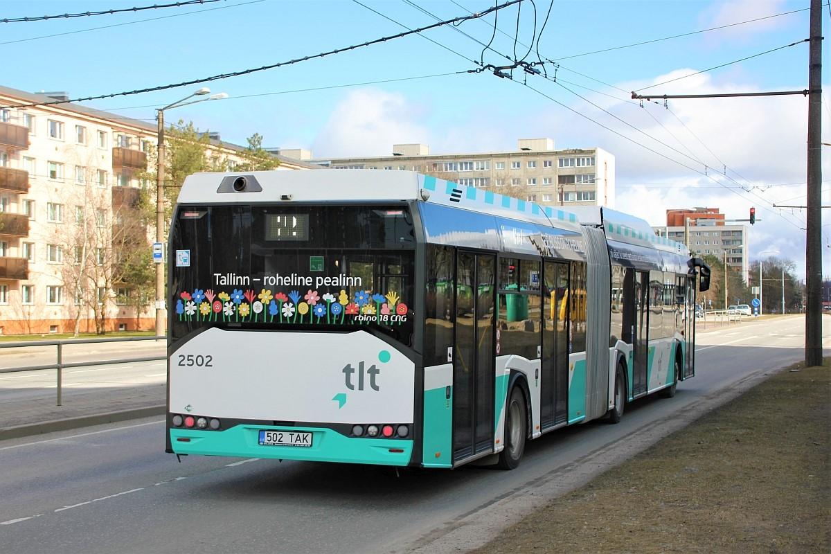Tallinn, Solaris Urbino IV 18 CNG № 2502