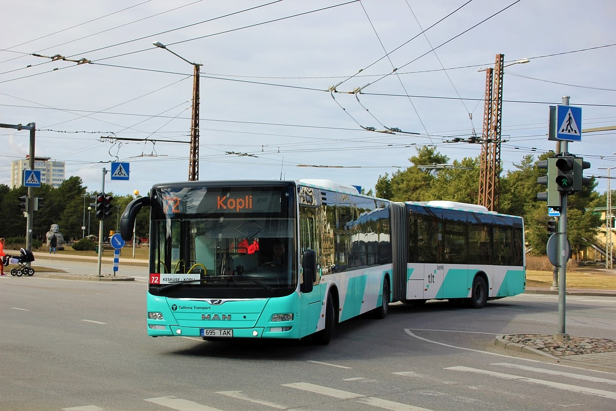 Tallinn, MAN A40 Lion's City GL NG323 № 2695
