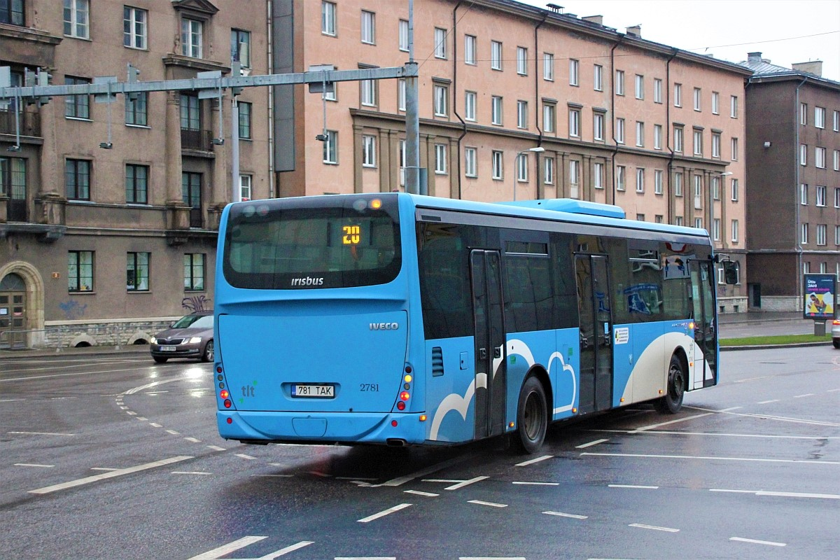 Tallinn, Irisbus Crossway LE 12M № 2781