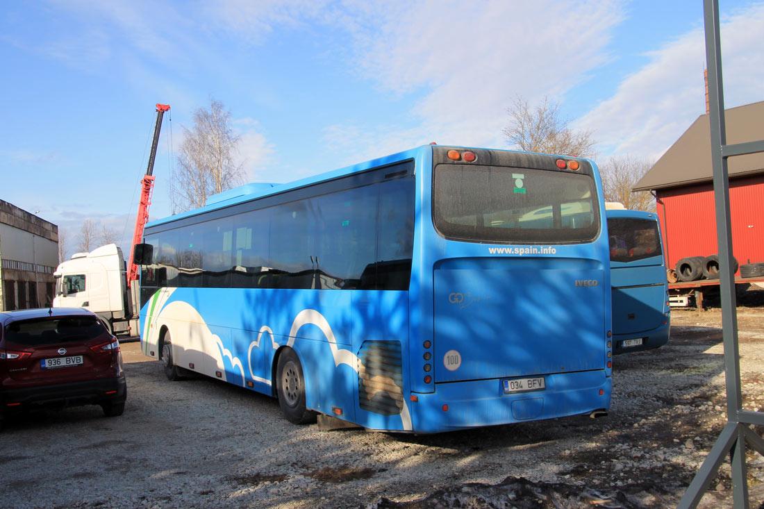 Kiviõli, Irisbus Crossway 12M № 034 BFV