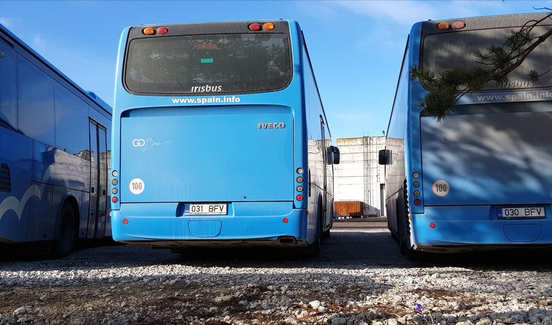 Kiviõli, Irisbus Crossway 12M № 031 BFV