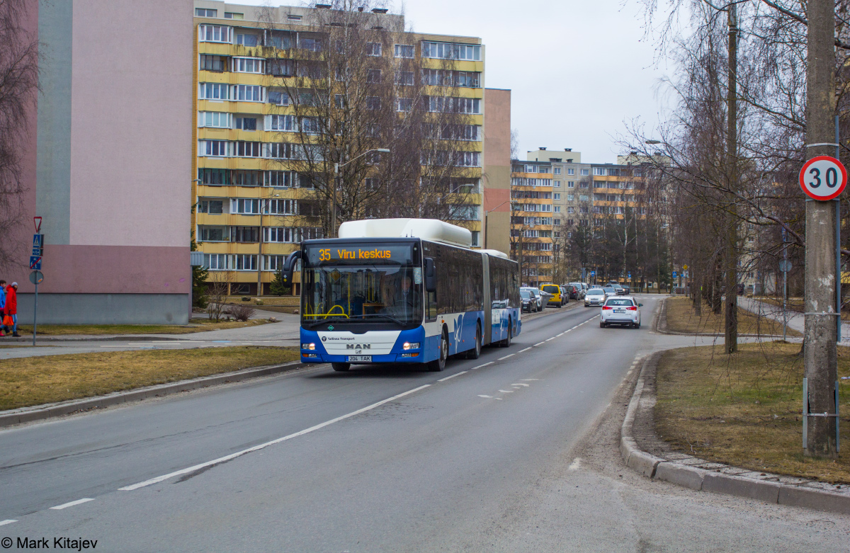 Tallinn, MAN A23 Lion's City G NG313 CNG № 3204