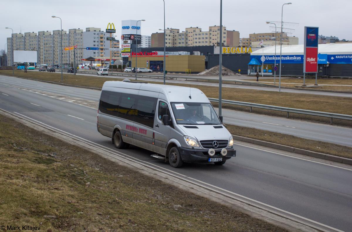 Tallinn, Mercedes-Benz Sprinter 515CDI № 807 FBC