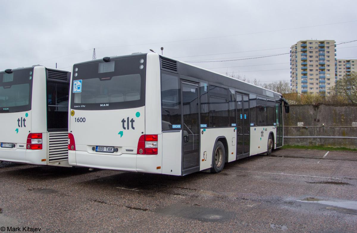 Tallinn, MAN A78 Lion's City LE EL293 № 1600
