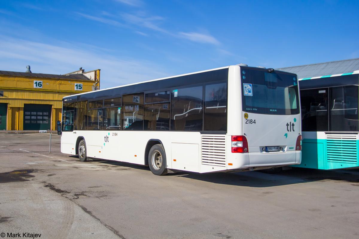 Tallinn, MAN A78 Lion's City LE EL293 № 2184