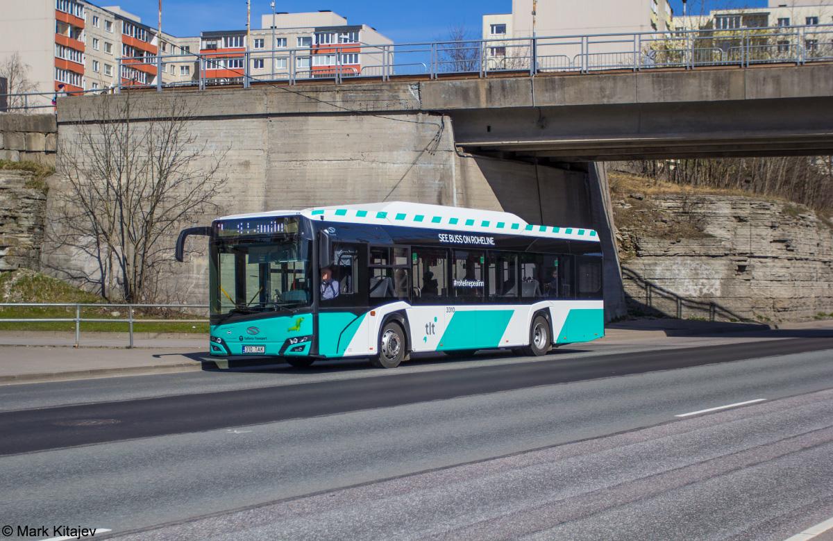 Tallinn, Solaris Urbino IV 12 CNG № 3310
