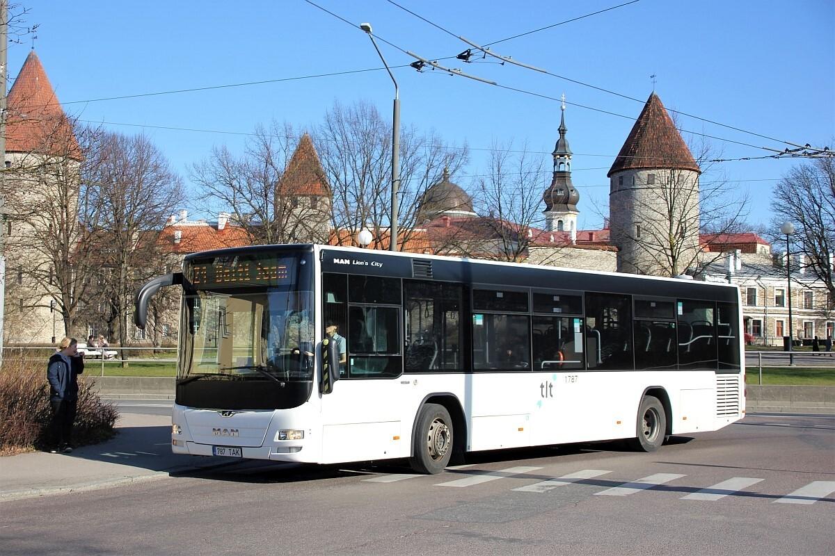 Tallinn, MAN A78 Lion's City LE EL293 № 1787
