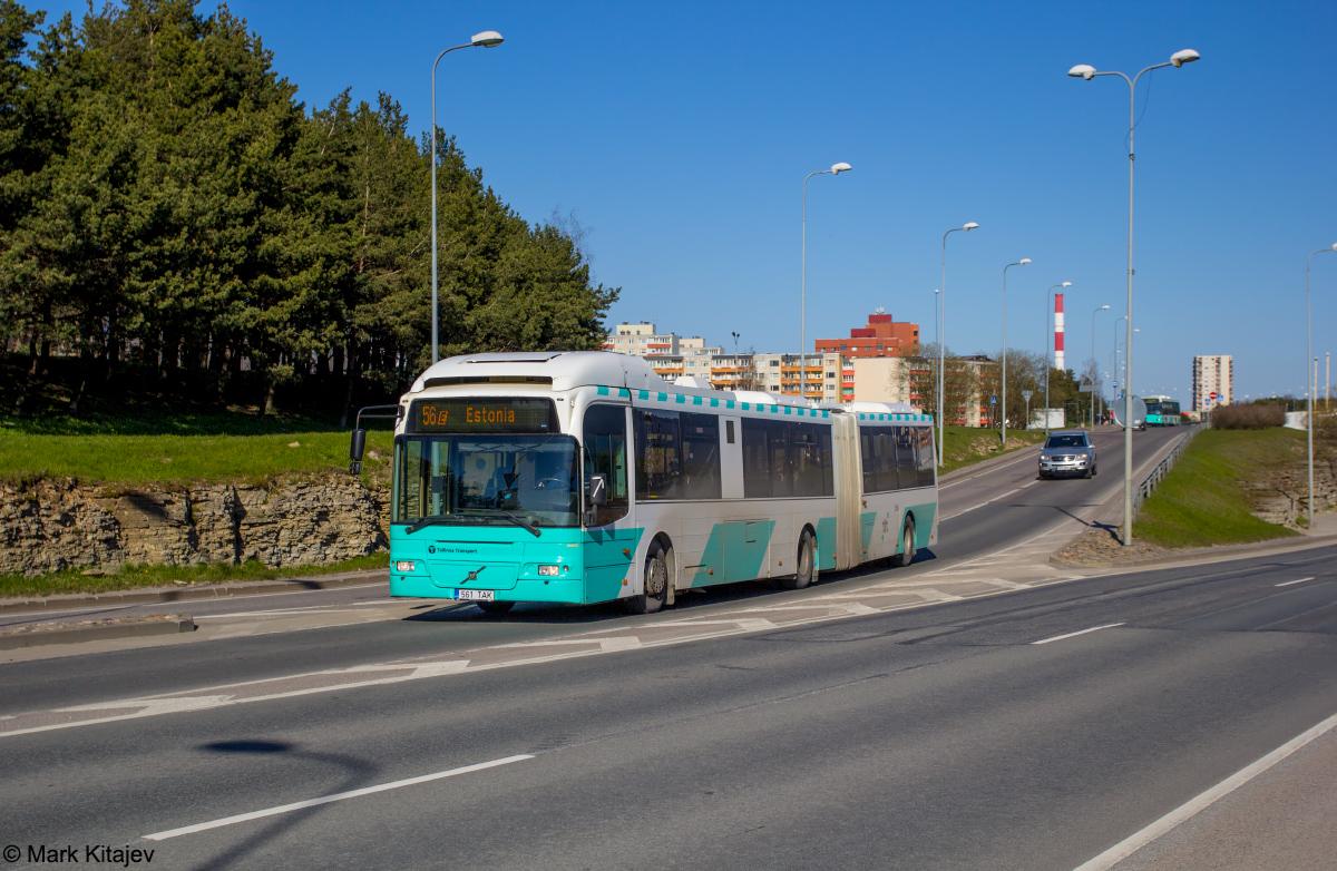 Tallinn, Volvo 7500 № 3561