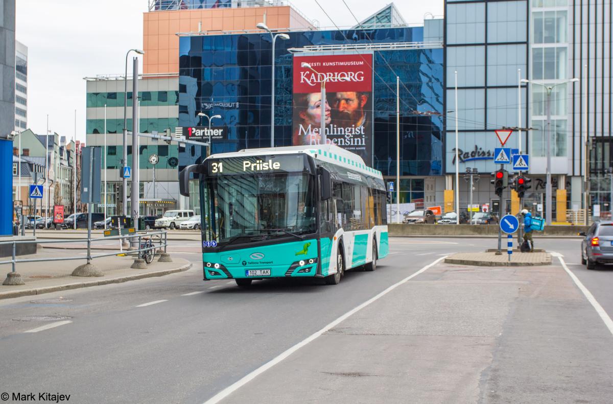 Tallinn, Solaris Urbino IV 12 CNG № 3102