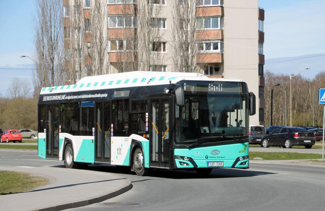 Tallinn, Solaris Urbino IV 12 CNG № 3137
