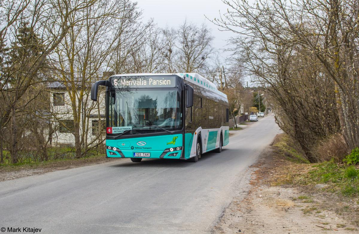 Tallinn, Solaris Urbino IV 12 CNG № 3103