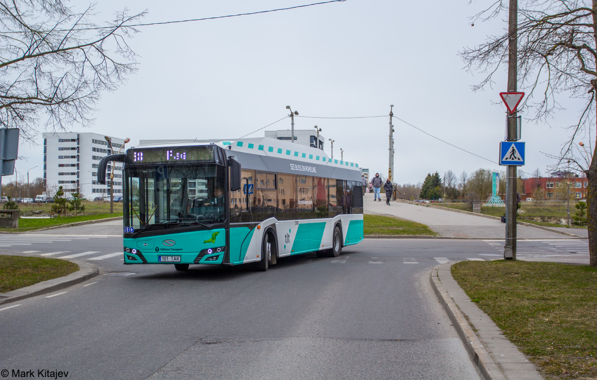 Tallinn, Solaris Urbino IV 12 CNG № 3101