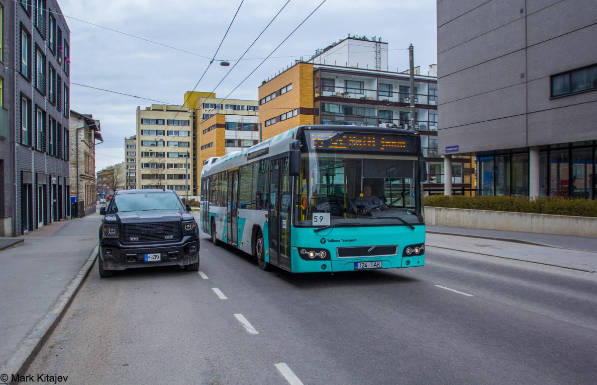 Tallinn, Volvo 7700 № 1124