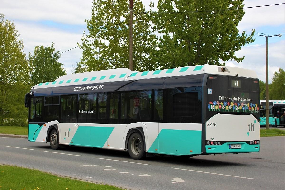 Tallinn, Solaris Urbino IV 12 CNG № 3276