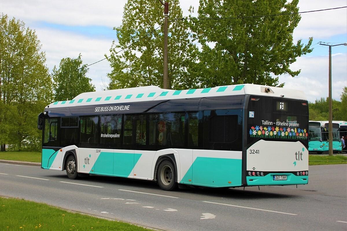 Tallinn, Solaris Urbino IV 12 CNG № 3241
