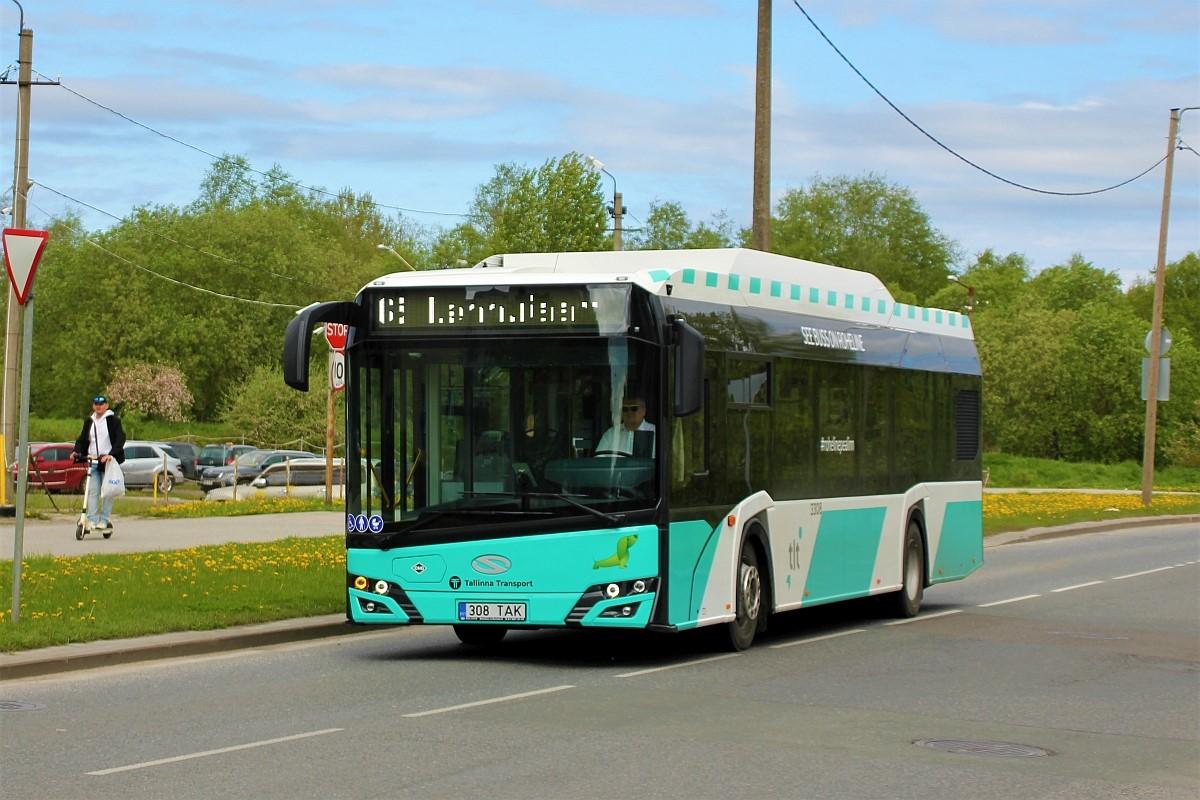 Tallinn, Solaris Urbino IV 12 CNG № 3308