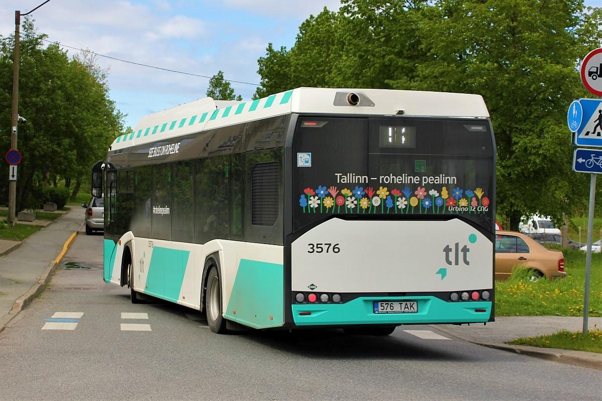 Tallinn, Solaris Urbino IV 12 CNG № 3576