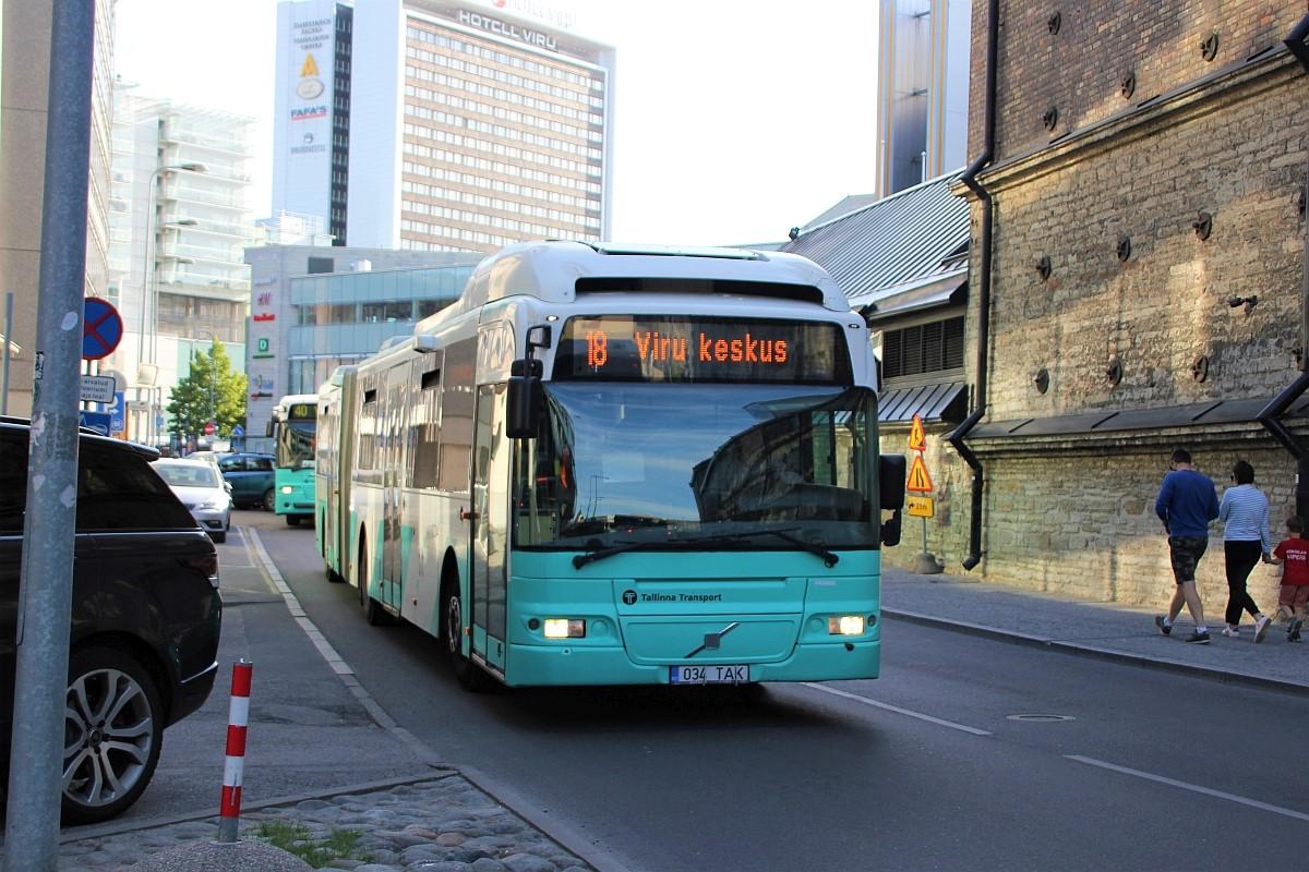 Tallinn, Volvo 7500 № 1034