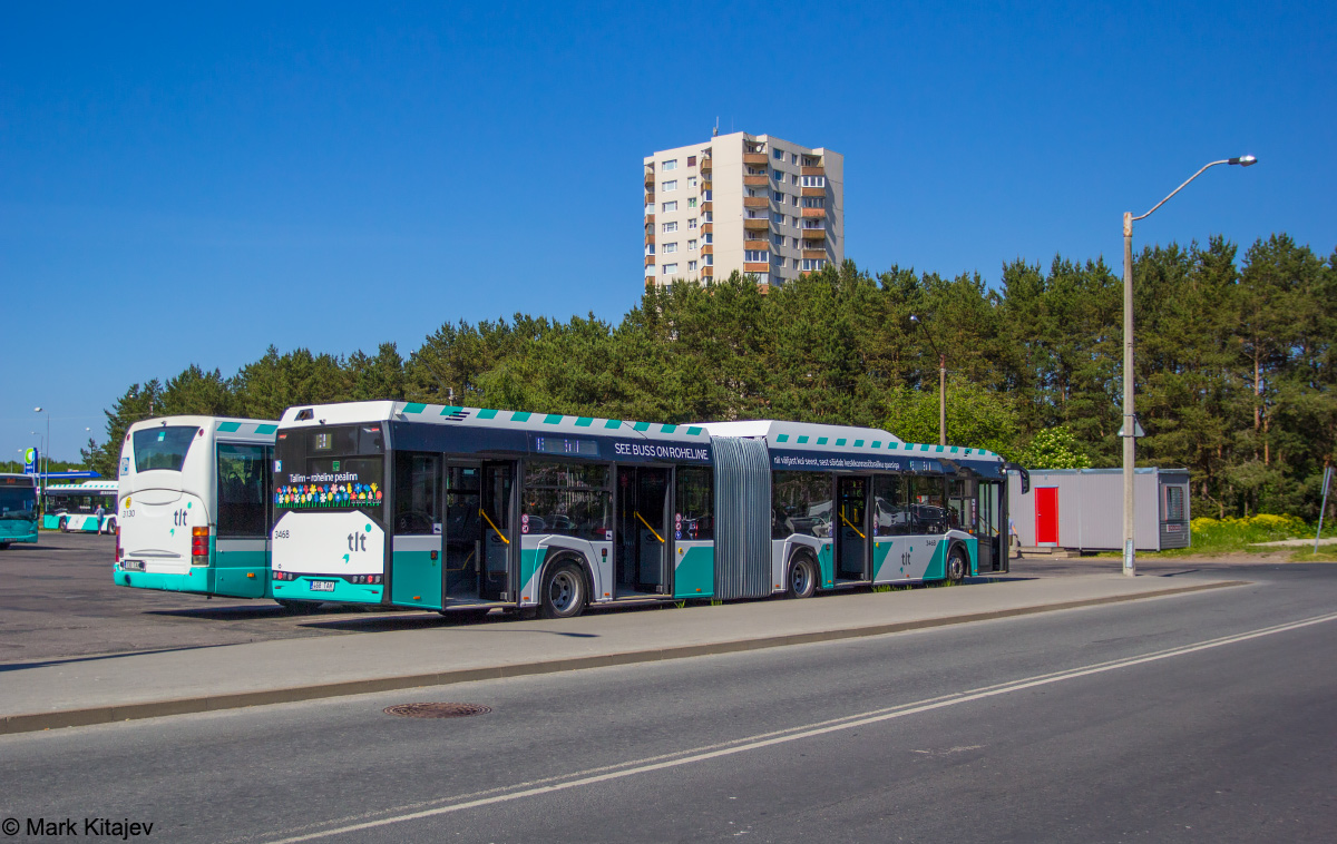 Tallinn, Solaris Urbino IV 18 CNG № 3468
