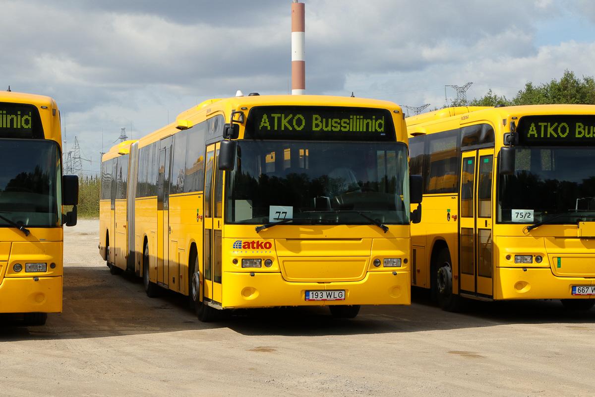 Kohtla-Järve, Volvo 8500 № 193 WLG