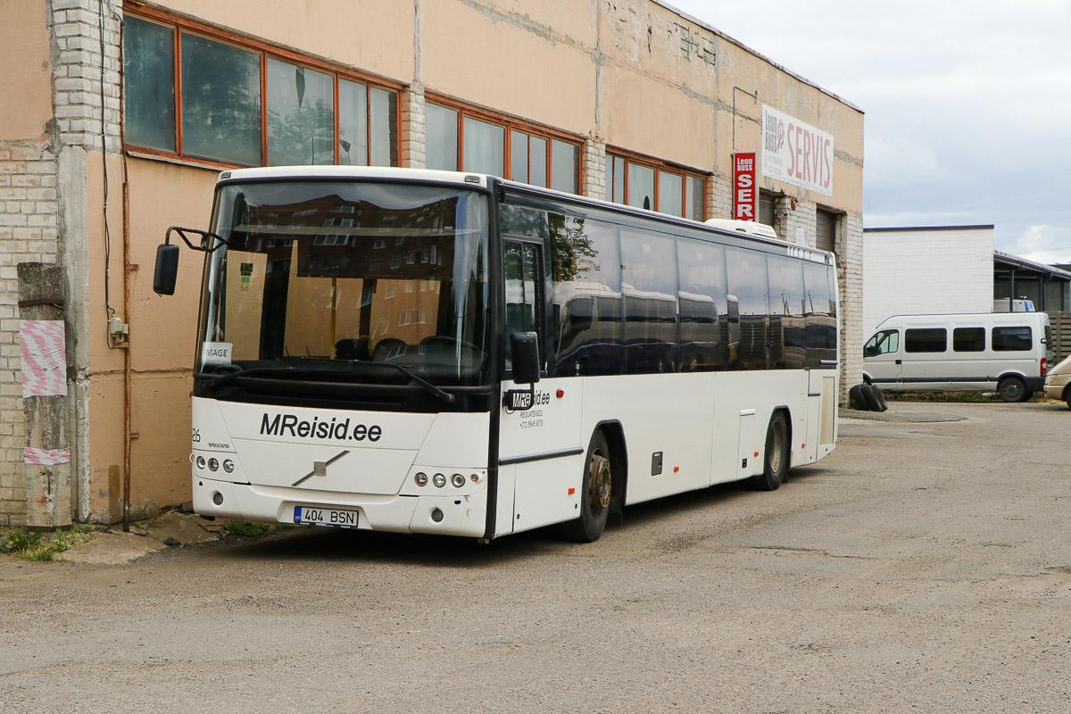 Narva, Volvo 8700LE № 404 BSN