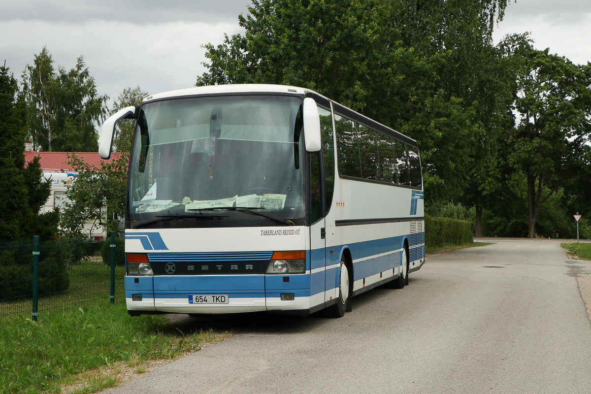 Jõgeva, Setra S315HD № 654 TKD