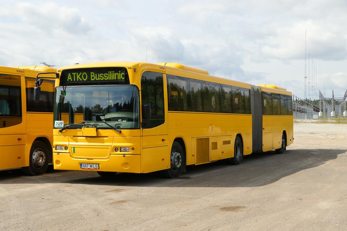Kohtla-Järve, Volvo 8500 № 667 WLG