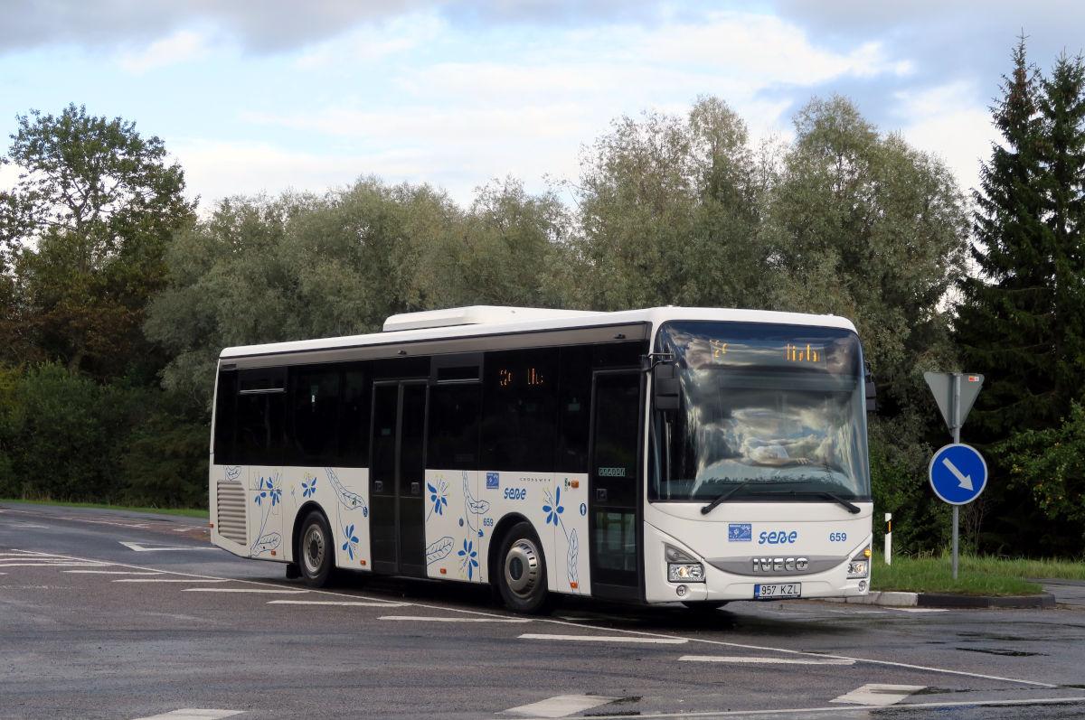 Pärnu, IVECO Crossway LE Line 10.8M № 659