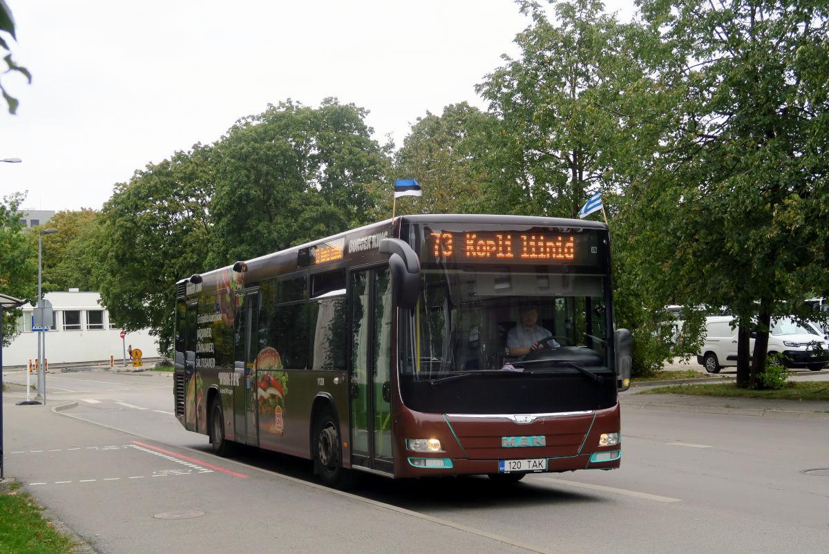 Tallinn, MAN A78 Lion's City LE EL293 № 1120
