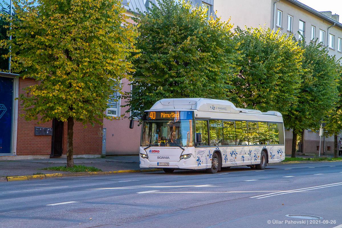 Pärnu, Scania Citywide LF CNG № 173 DZB