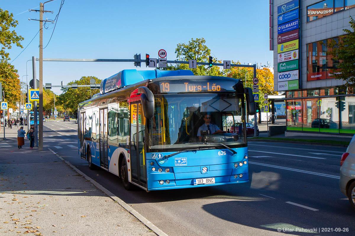 Pärnu, Solbus Solcity SM12 CNG № 626